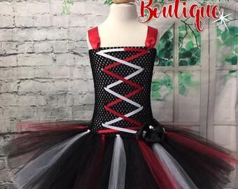 Pirate tutu, Pirate dress, Pirate tutu dress, Pirate costume, Pirate tutu costume, Pirate wedding dress, Pirate wedding, Pirate day dress