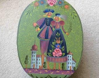 Wedding Box - Oval Shaker Box - Jo Sonja Jansen Design