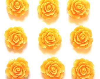 Lt Orange Push Pin Thumb Tack Gift Hostess Gift Office Gift Wedding Shower Dorm Decor Teacher Gift