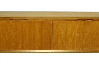 Danish Style Mid Century Modern Credenza with Contemporary design s938