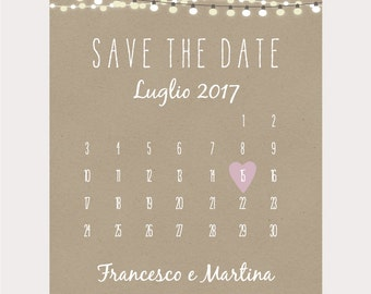 Save the Date digital