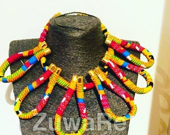 Kente Looped NeckLace