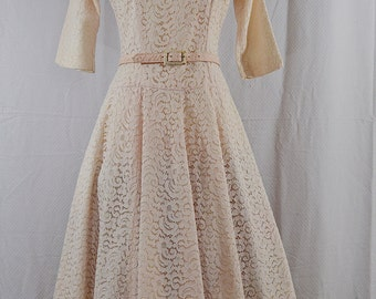 1950's Pretty in Pink || Jonathan Logan || xsmall-small ||