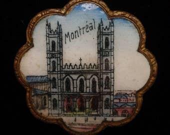 Montreal Picture Pin Vintage Souvenir