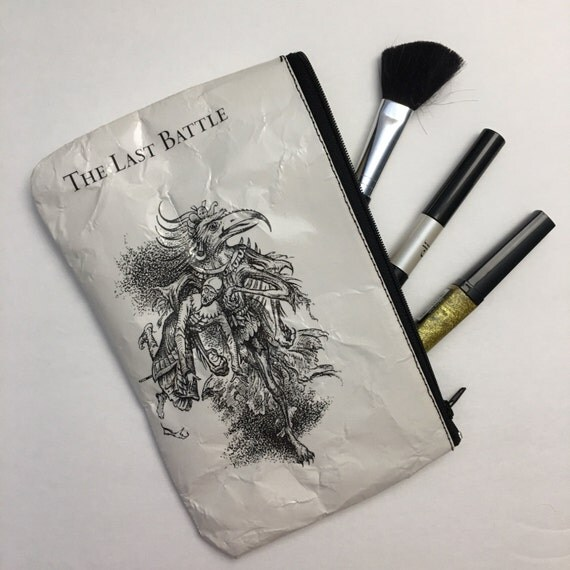 Chronicles of Narnia Themed Vinyl Pencil or Make-Up Pouch - The Last Battle