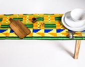 African Print Table Runner - Table Runner - Kente Table Runner - Kitchen And Dining - Table Linen - Table Cloth - Home And Living