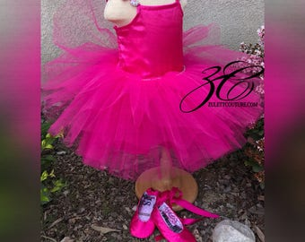 Ballerina tutu Dress  - Flower Girl Dress - Ballerina Dress -  Ballet Dress - Tulle Dress - Wedding Dress - Ballerina Dress by Z