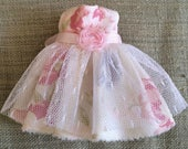Garden Party Shabby Pouffe Dress from the Romance Collection by A BirdyBoo Design