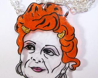 Illustrated Vivienne Westwood 'Horny Devil' dainty chain necklace