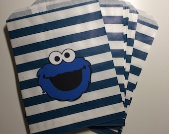 Cookie Monster Favor/Treat Bags