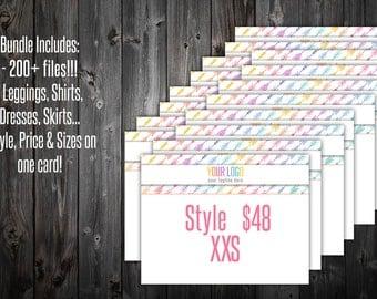 "Style / Price / Size Bundle - Arrows 8.5x11"""