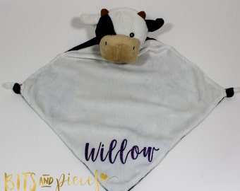 Cubbies® Personalized Baby Gift - Personalized Baby Security Blanket - Baby Shower - Newborn - Gift - Blankie