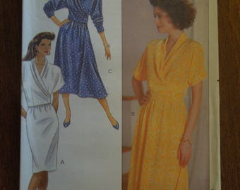 Butterick 4085, sizes 12-16, UNCUT sewing pattern, craft supplies, top and skirt, misses, womens