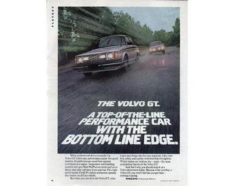Vintage 1980 magazine ad for Volvo - 14