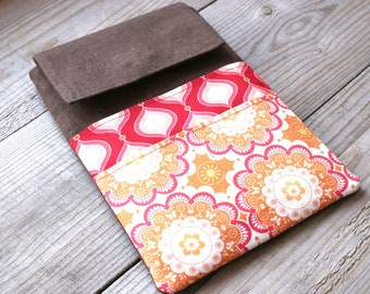 iPad Sleeve with Pocket Pattern, Sewing pattern ipad, Tablet case pdf, Kindle tutorial, ipad tutorial, Pdf e-book, ipad case sewing