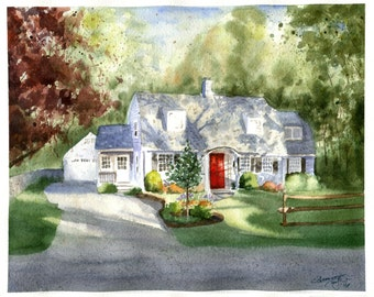 Beautiful Personalized House Painting