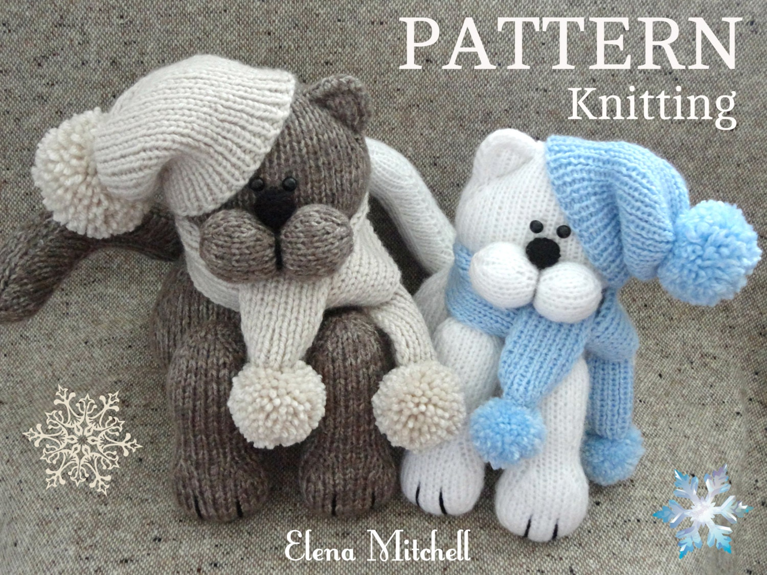 Knitting pattern animal knit pattern cat animal patterns zoom bankloansurffo Image collections