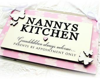 Grandma's Kitchen Wall Plaque