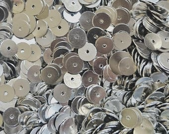 CLEARANCE** 6mm brass sequin, thin metal disc, 500 pcs