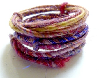 Berry Blend WoolyWire - 36 inches