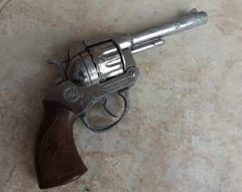 Vintage Treber Made In Spain Toy Pistol Gun
