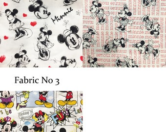 Mickey and Minnie Cotton Harem Pants