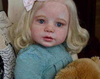 Reborn  Life Like  Toddler  Doll  ~ Lilly ~ Regina Swialkowski ~