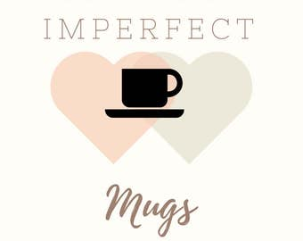 SALE // Imperfect mugs // Numerous Design // Discount mugs // funny mug // coffee mugs // cheap coffee mugs // blemished coffee mug // mug