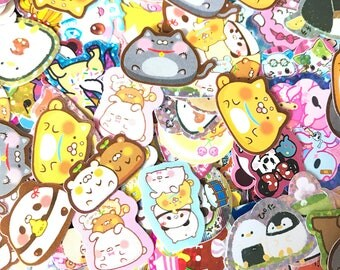 Kawaii Sticker Flakes Grab Bag