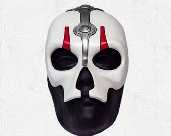 Darth Nihilus - Mask - Inspired by Star Wars: Knights of the Old Republic II - Custom Prop Replica