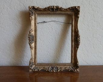 Gilded carved frame