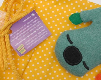PIPO. Baby's warm seeds bag. Baby's colic relief. Cute accesory nursery.