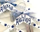 Summit Cheer, Cheerleading uniform hanger, personalized cheer uniform hanger, Cheer Worlds, Dance worlds, cheerleaders, Disney
