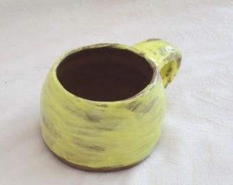 Yellow Espresso Mug
