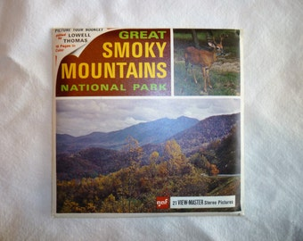 Great Smoky Mountains National Park, 3 Reels for Viewmaster.