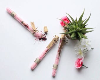 10 test tube bath salts// wedding favor// shower favor// Gifts
