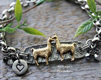 LLama Bracelet, Llama Jewelry