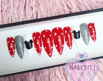 NAILED IT! Hand Painted False Nails - Disney