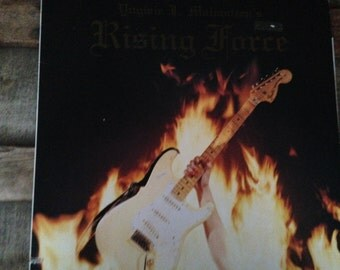 Yngwie Malmsteen - Rising Force- Japanese issue vinyl record