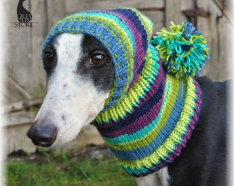 Hat for greyhound/galgo/lurcher