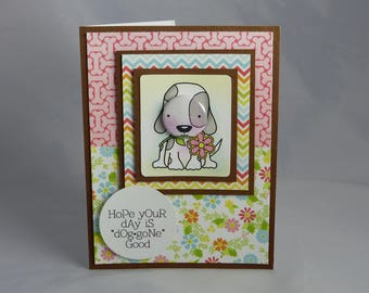 Handmade Greeting Card: Happy Birthday Card, Thinking of You, Get Well, Dog, Mom, Mother, Sister Daughter Friend Granddaughter Son Grandson