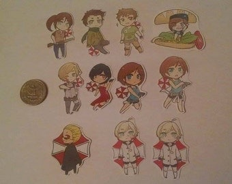 Resident Evil Stickers