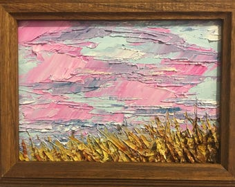 Wheat - Impasto Landscape