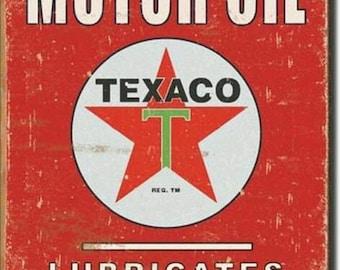Vintage TEXACO SIGN: Digital Download