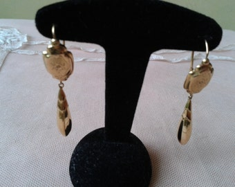"Earrings ""Napoléon III"", in 18 carat gold"