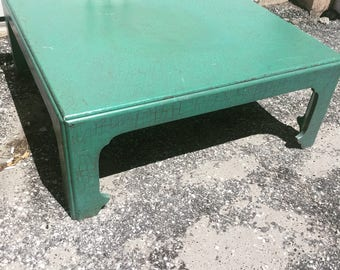 Mid century hollywood trgrmcy Baker ming coffee table