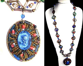 Vintage 90s designer designer Necklace by PauletteVintage vintage