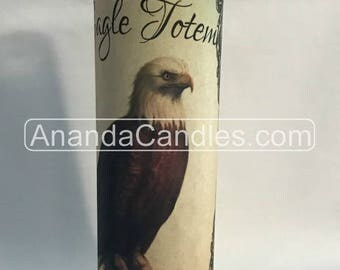 Hoodoo Voodoo Eagle Totem Fixed 7 Day Candle Witchcraft