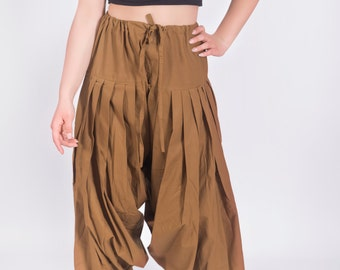 Womens Indian Patiala Yoga pants in cotton, Fall winter leggings,  Gifting Patiala, Plus size.
