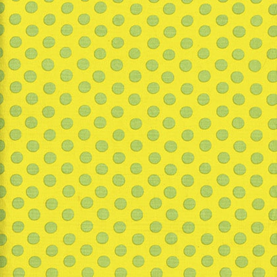 SPOT Yellow Kaffe Fassett Collective  Sold in 1/2 yd increments